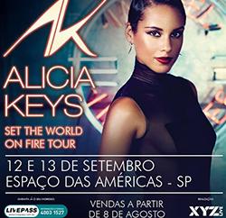 Show Alicia Keys – SP